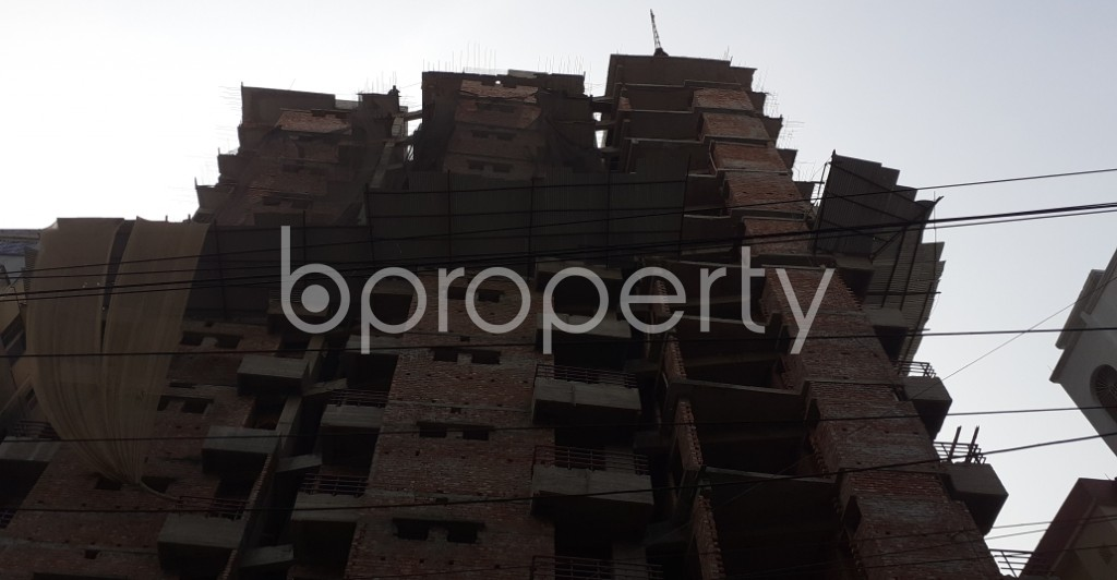 Front view - 3 Bed Apartment for Sale in Mugdapara, Dhaka - 1955876