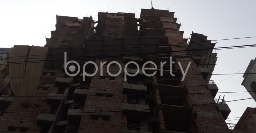 Front view - 3 Bed Apartment for Sale in Mugdapara, Dhaka - 1955877