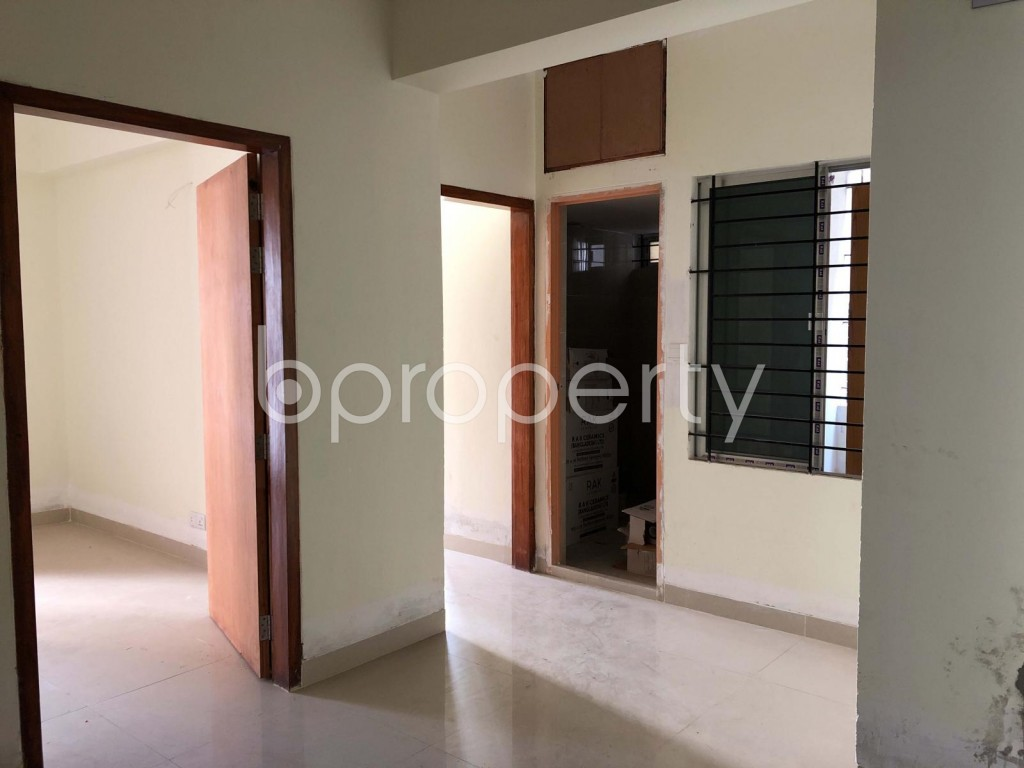 Dining area - 3 Bed Apartment for Sale in Bashundhara R-A, Dhaka - 1918685