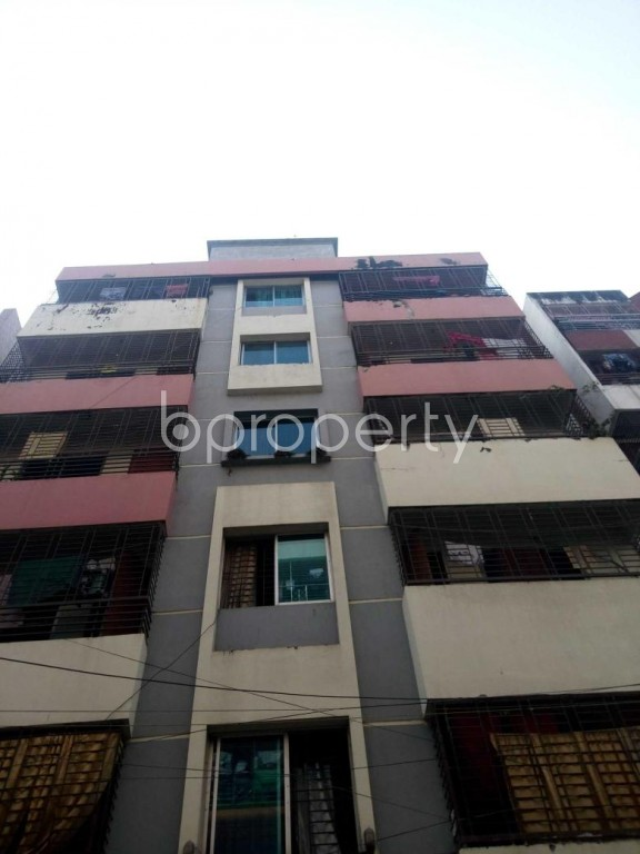 Front view - 3 Bed Apartment to Rent in Uttara, Dhaka - 1956121