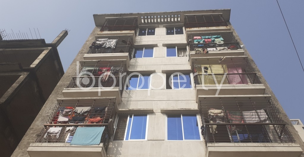Front view - 3 Bed Apartment for Sale in Uttara, Dhaka - 1956189