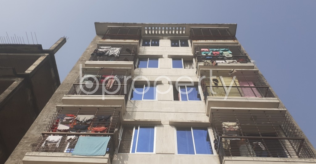 Front view - 3 Bed Apartment for Sale in Uttara, Dhaka - 1956191