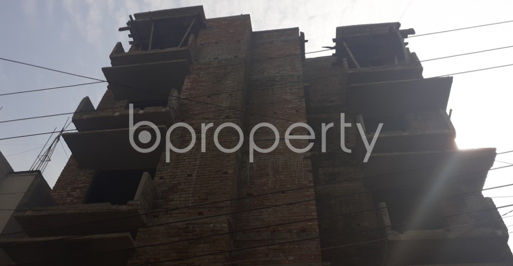 Front view - 2 Bed Apartment for Sale in Uttara, Dhaka - 1956202