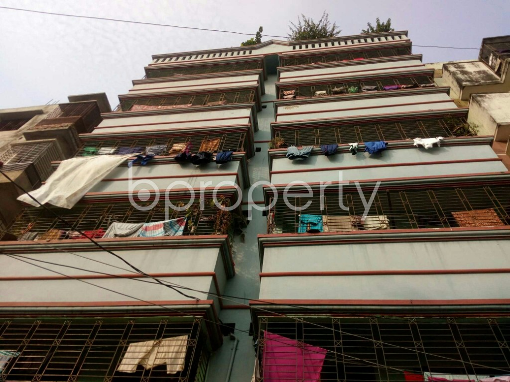 Front view - 1 Bed Apartment to Rent in Badda, Dhaka - 1956218