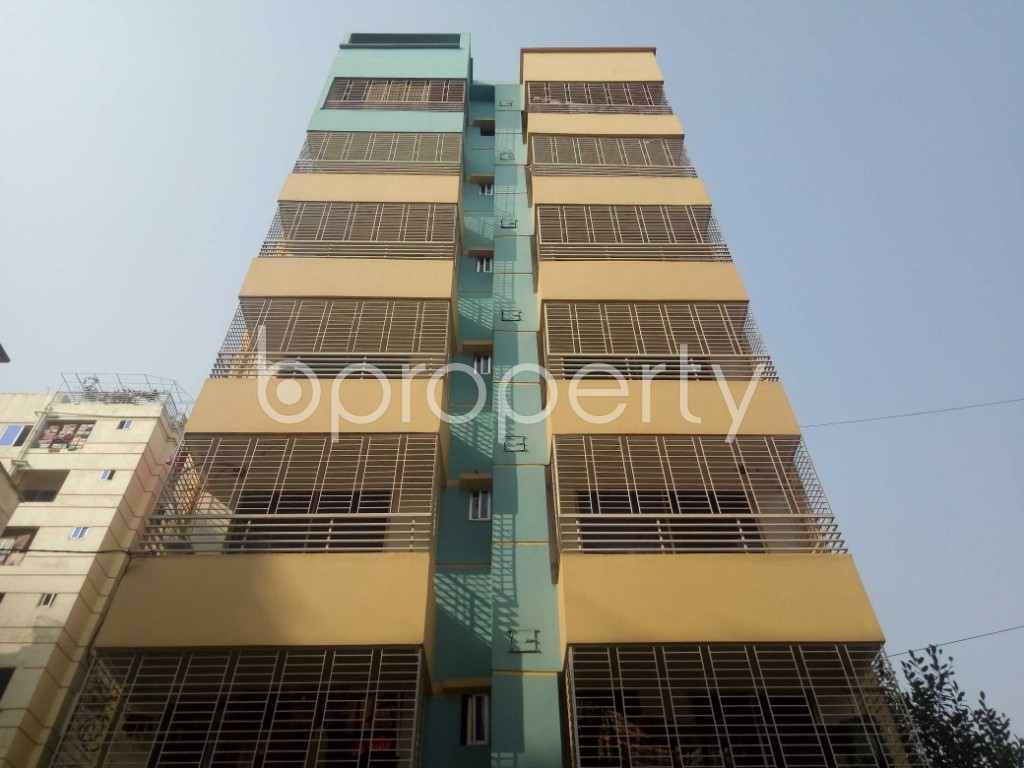 Front view - 3 Bed Apartment to Rent in Uttara, Dhaka - 1956309