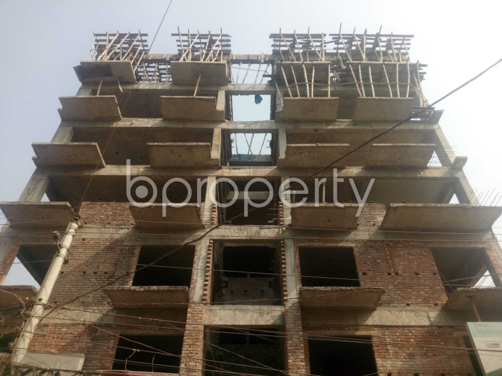 Front view - 3 Bed Apartment for Sale in Banasree, Dhaka - 1956526
