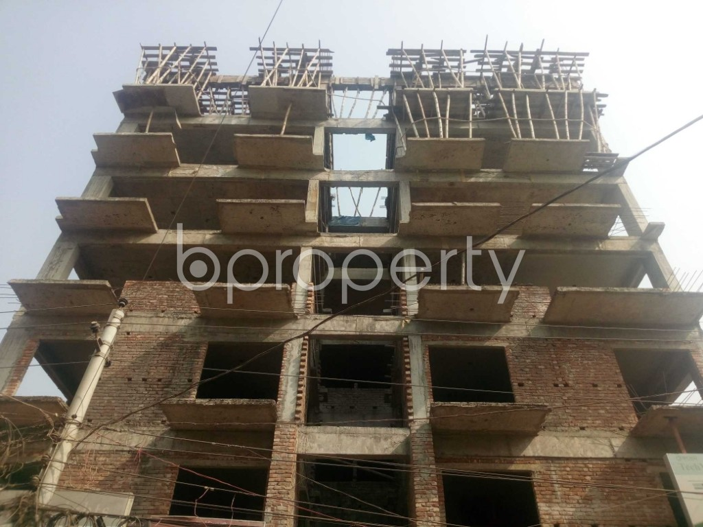 Front view - 3 Bed Apartment for Sale in Banasree, Dhaka - 1956528