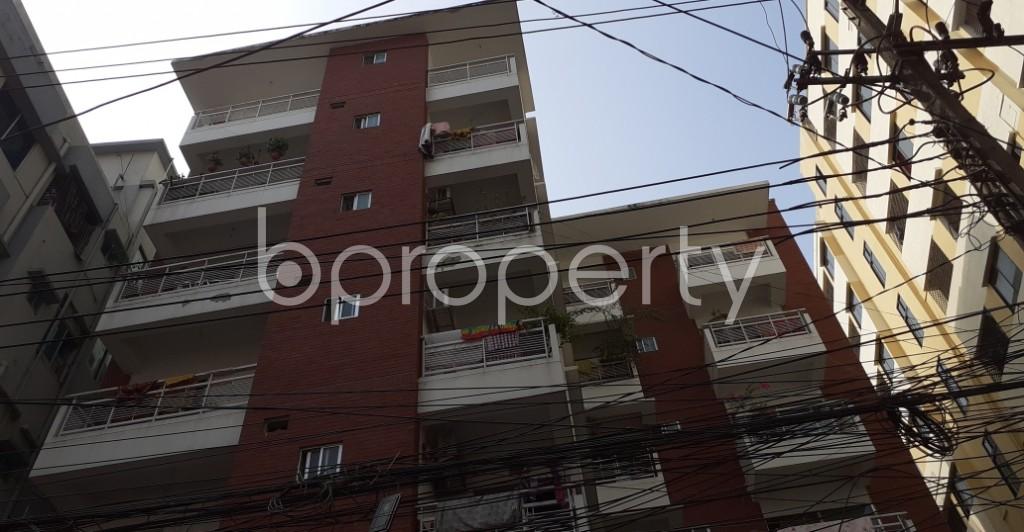 Outside view - 3 Bed Apartment to Rent in Kalabagan, Dhaka - 1956579