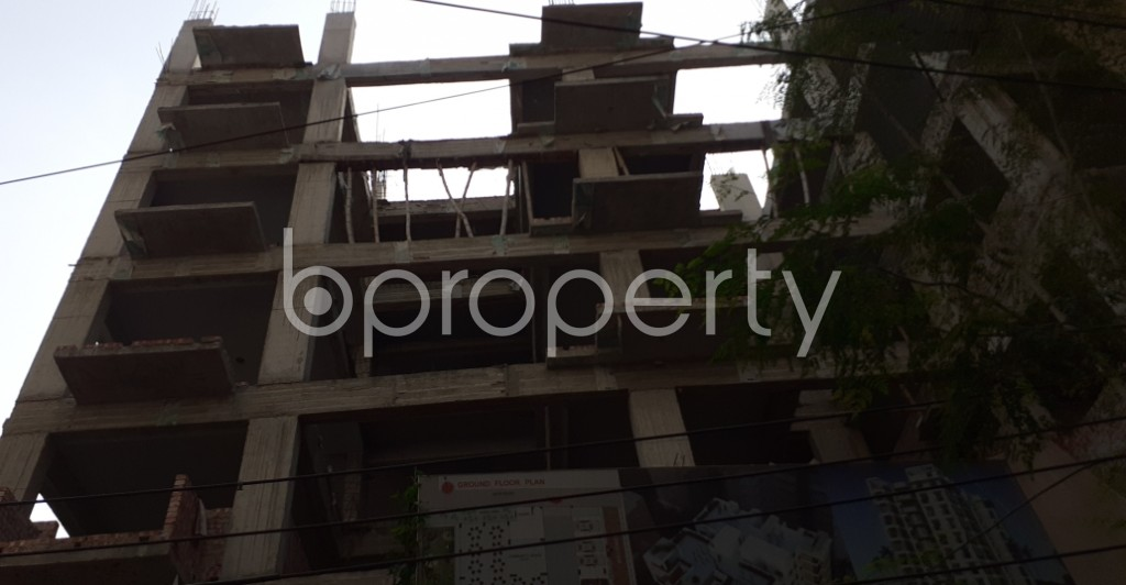 Outside view - 3 Bed Apartment for Sale in Kalabagan, Dhaka - 1956580