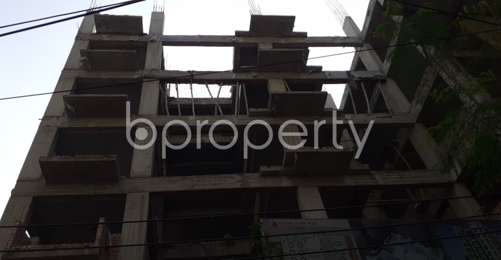 Outside view - 3 Bed Apartment for Sale in Kalabagan, Dhaka - 1956581