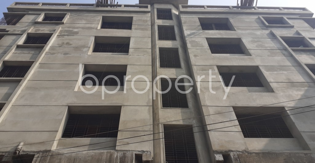 Front view - 3 Bed Apartment for Sale in Shyamoli, Dhaka - 1956592