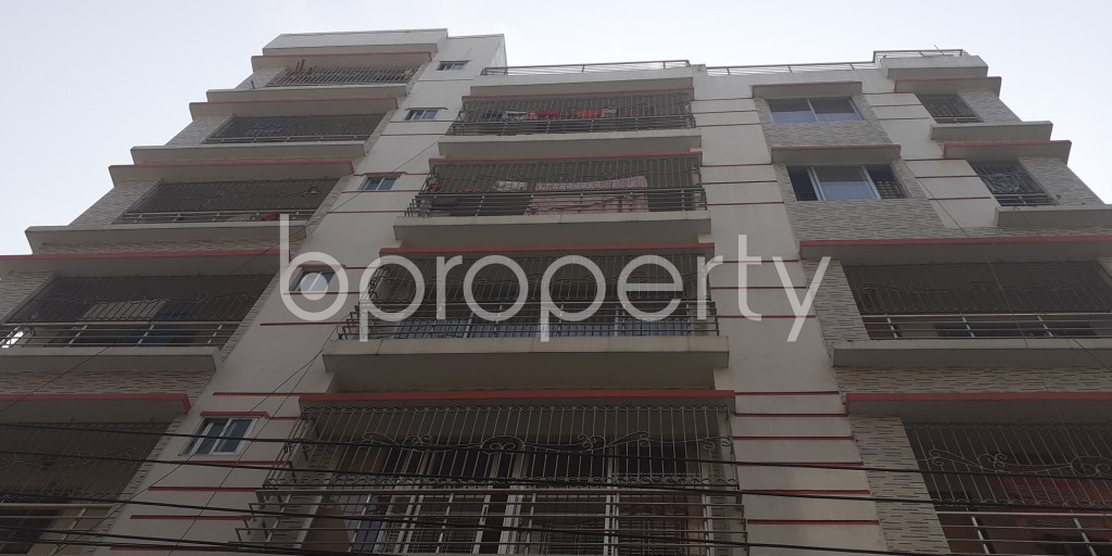 Front view - 2 Bed Apartment to Rent in Bashundhara R-A, Dhaka - 1956621