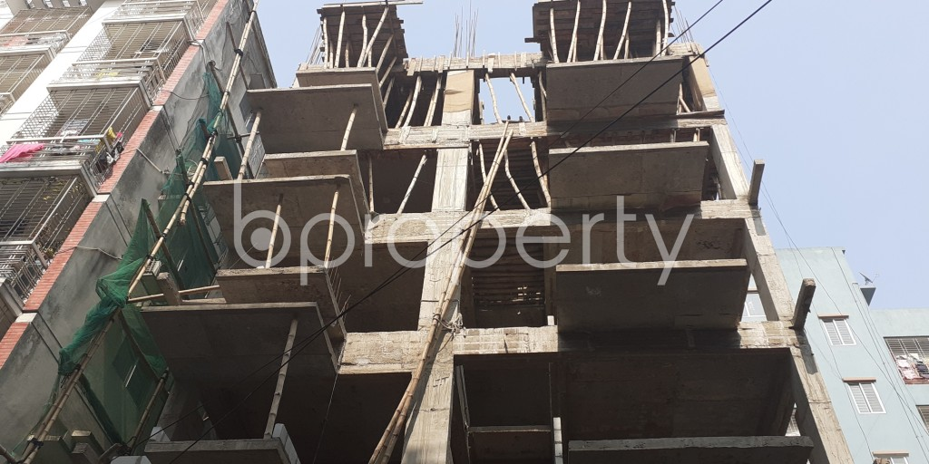 Front view - 3 Bed Apartment for Sale in Bashundhara R-A, Dhaka - 1956622