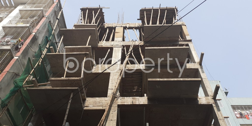 Front view - 3 Bed Apartment for Sale in Bashundhara R-A, Dhaka - 1956623