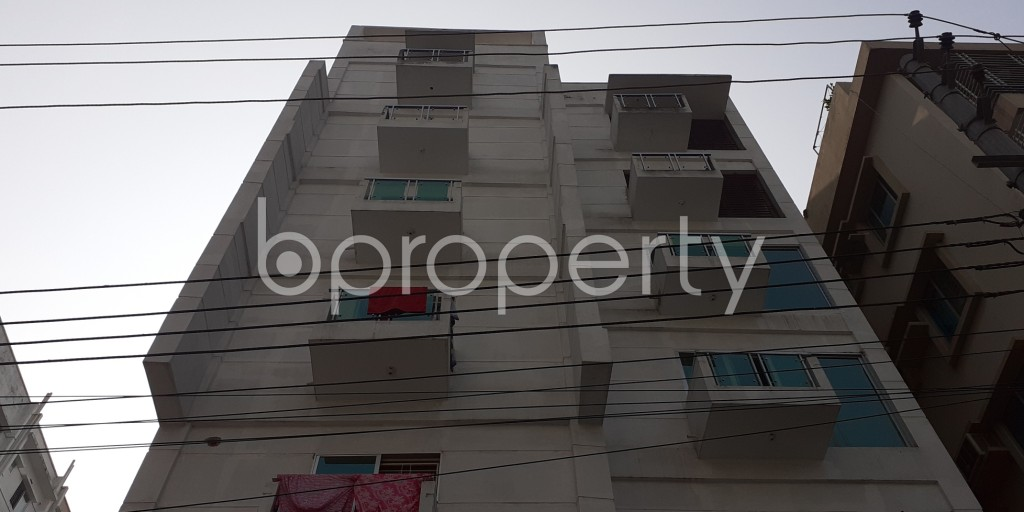 Front view - 3 Bed Apartment to Rent in Bashundhara R-A, Dhaka - 1956624