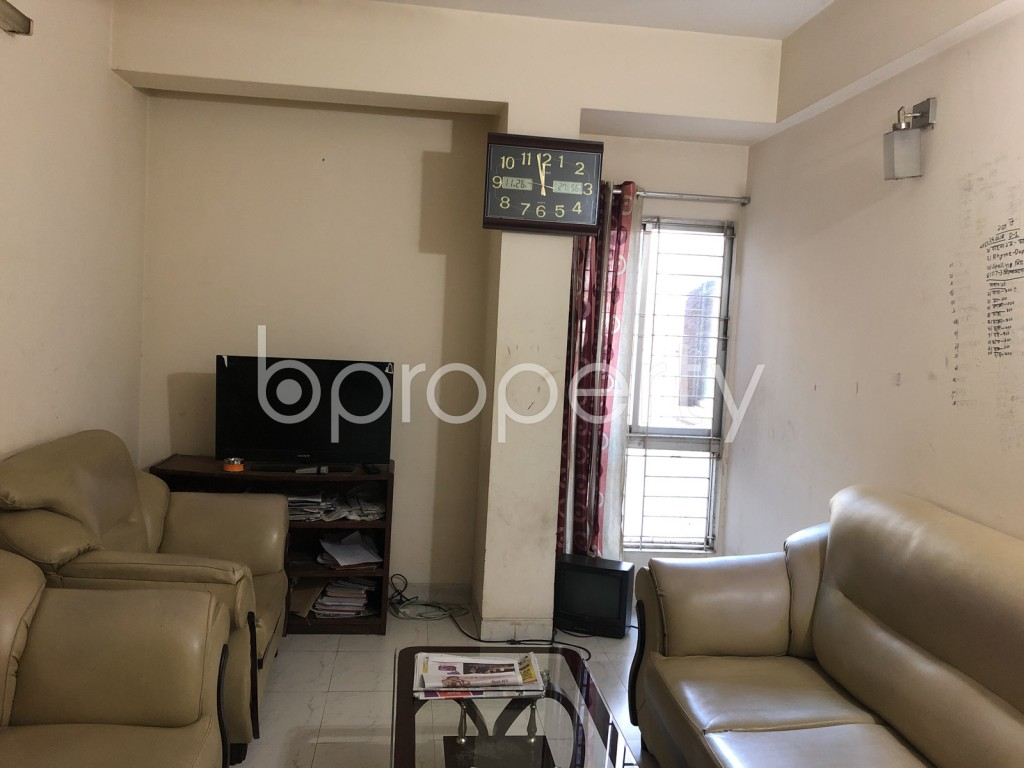 Empty Room - 3 Bed Apartment for Sale in Maghbazar, Dhaka - 1946463