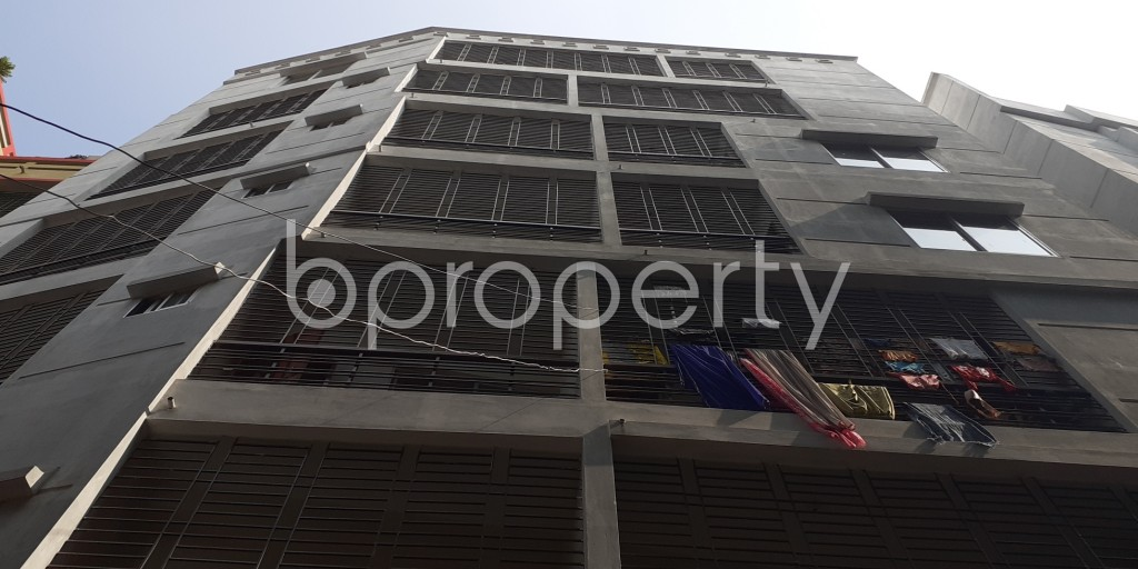 Outside view - 3 Bed Apartment to Rent in Agargaon, Dhaka - 1956700