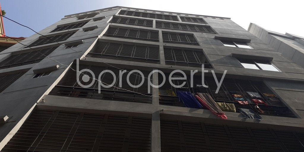 Outside view - 3 Bed Apartment to Rent in Agargaon, Dhaka - 1956704
