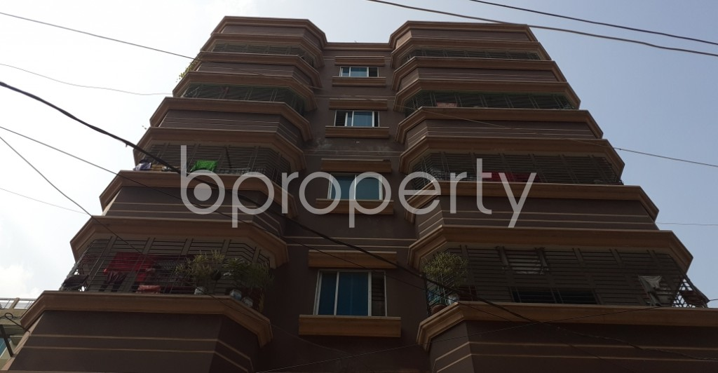 Front view - 2 Bed Apartment to Rent in Mirpur, Dhaka - 1956715