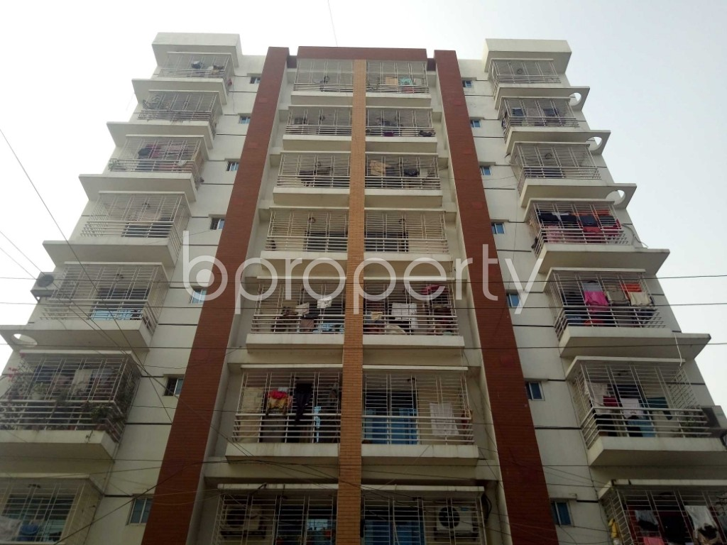 Front view - 3 Bed Apartment to Rent in Uttara, Dhaka - 1956720