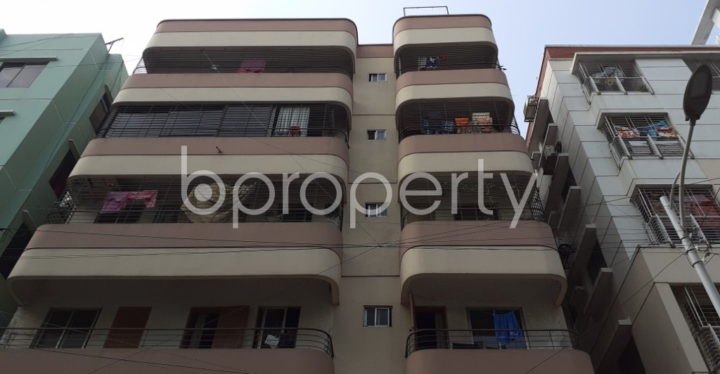 Front view - 2 Bed Apartment for Sale in Uttara, Dhaka - 1956735
