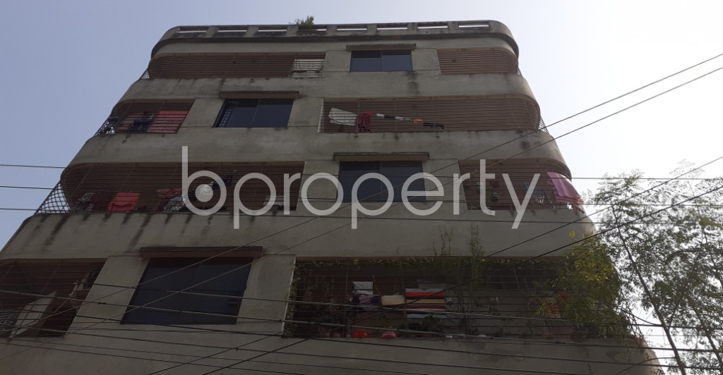 Front view - 4 Bed Apartment for Sale in Mirpur, Dhaka - 1956773