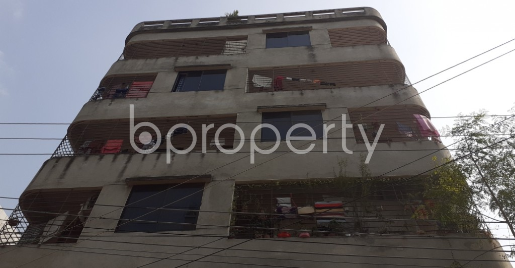 Front view - 4 Bed Apartment for Sale in Mirpur, Dhaka - 1956774