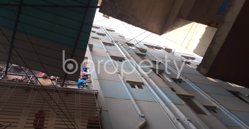 Outside view - 3 Bed Apartment to Rent in Dhanmondi, Dhaka - 1956783