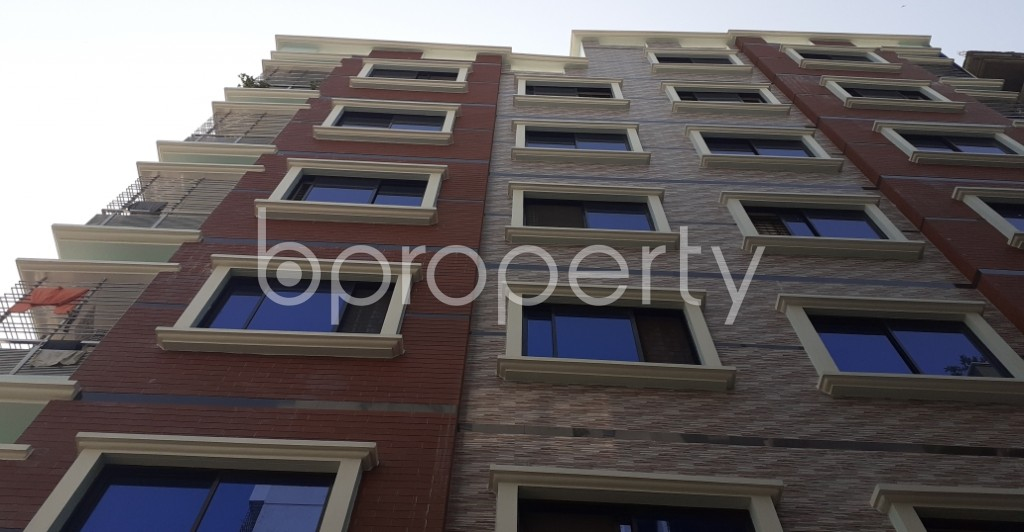 Front view - 3 Bed Apartment to Rent in Mirpur, Dhaka - 1956814