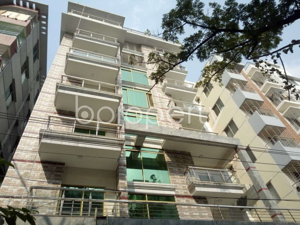 Front view - 3 Bed Apartment to Rent in Bashundhara R-A, Dhaka - 1956875