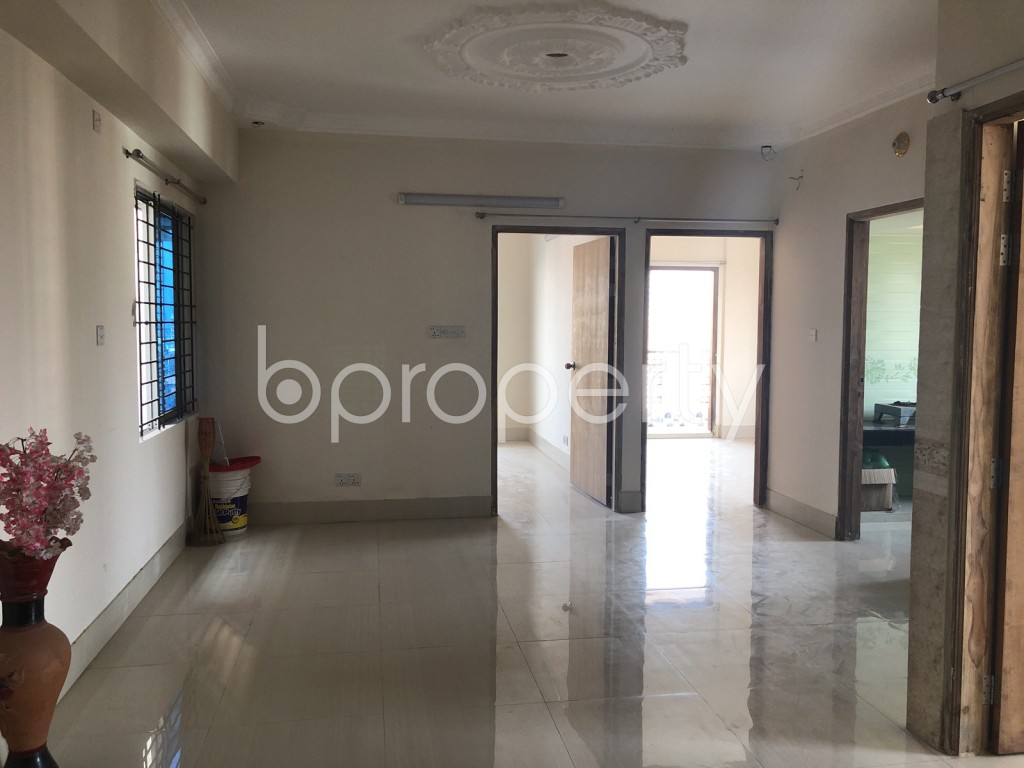 Dining area - 3 Bed Apartment for Sale in Maghbazar, Dhaka - 1923137