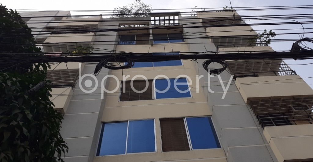 Front view - 3 Bed Apartment for Sale in Uttara, Dhaka - 1956912