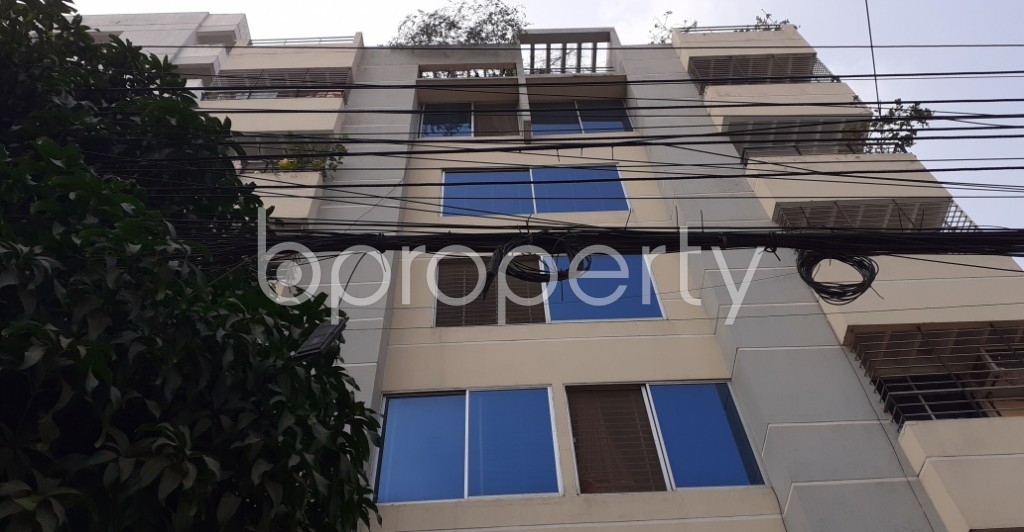 Front view - 3 Bed Apartment for Sale in Uttara, Dhaka - 1956913