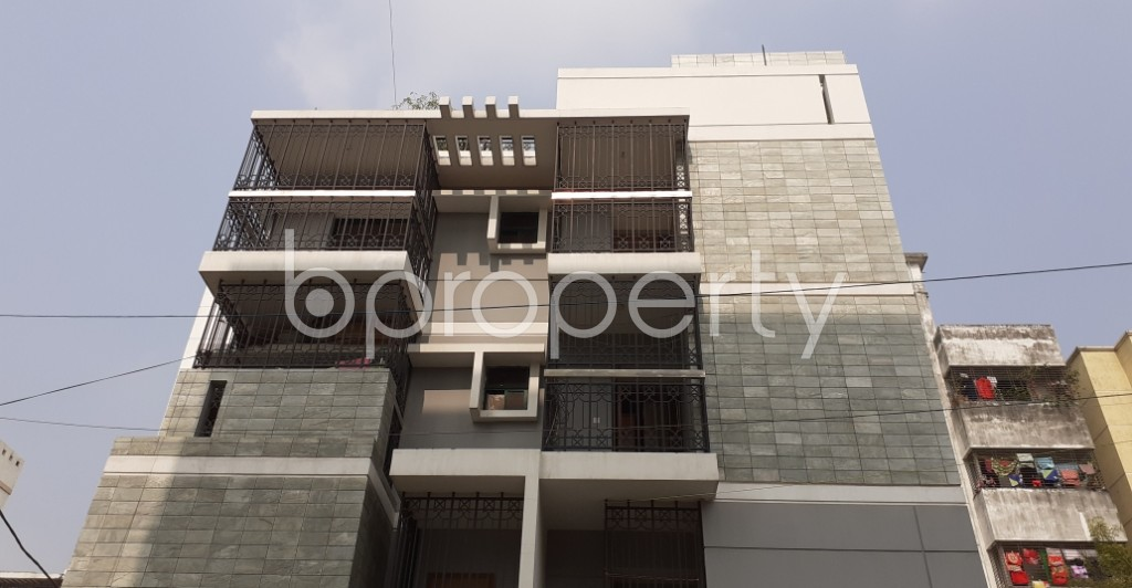 Front view - 3 Bed Apartment for Sale in Uttara, Dhaka - 1957031