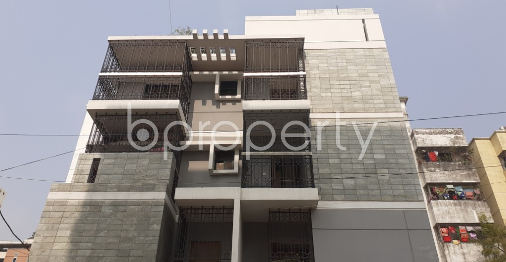 Front view - 1 Bed Apartment for Sale in Uttara, Dhaka - 1957032