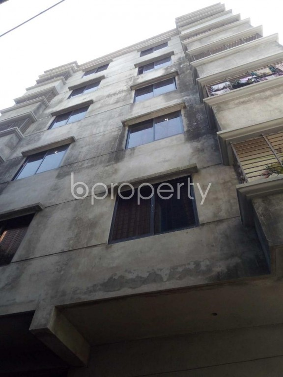 Front view - 2 Bed Apartment to Rent in Badda, Dhaka - 1958061