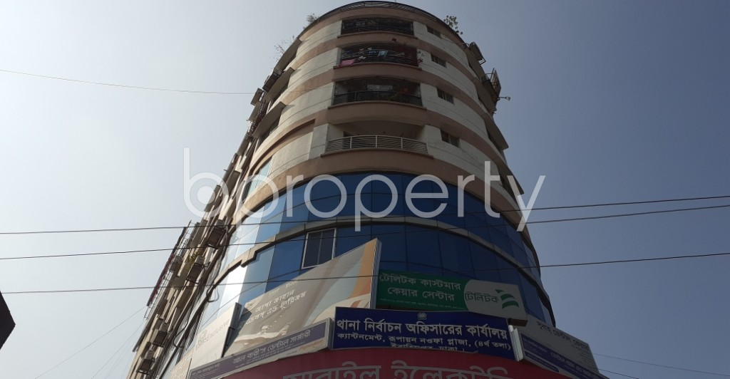 Front view - Shop for Sale in Ibrahimpur, Dhaka - 1958189