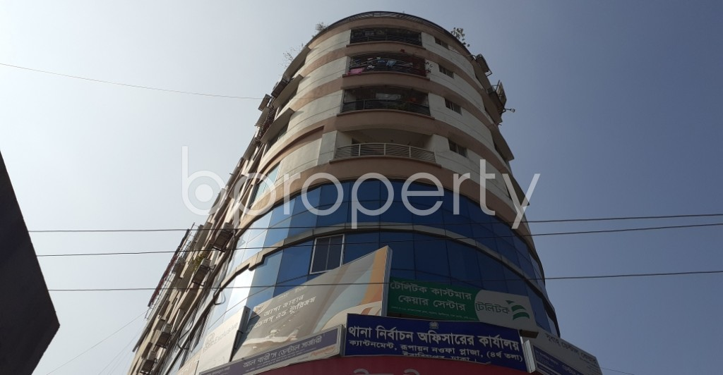 Front view - Shop for Sale in Ibrahimpur, Dhaka - 1958194