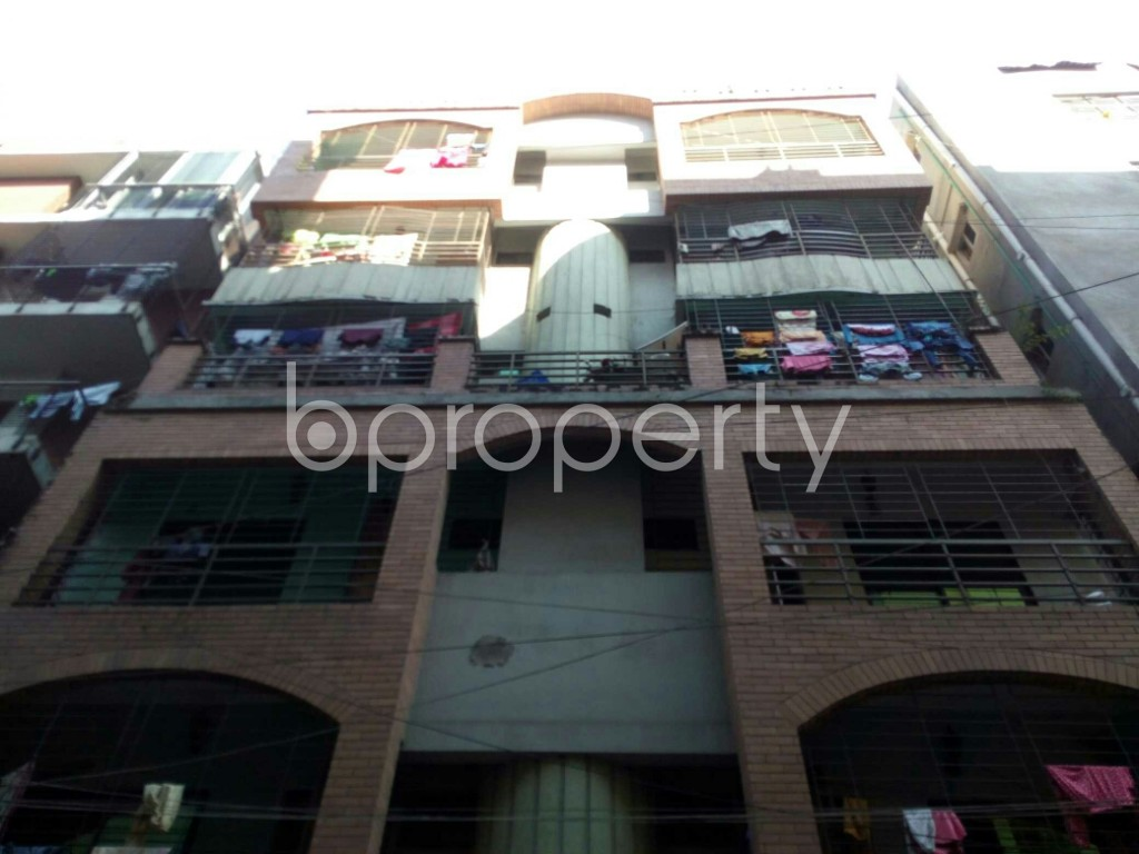 Front view - 2 Bed Apartment to Rent in Badda, Dhaka - 1958471