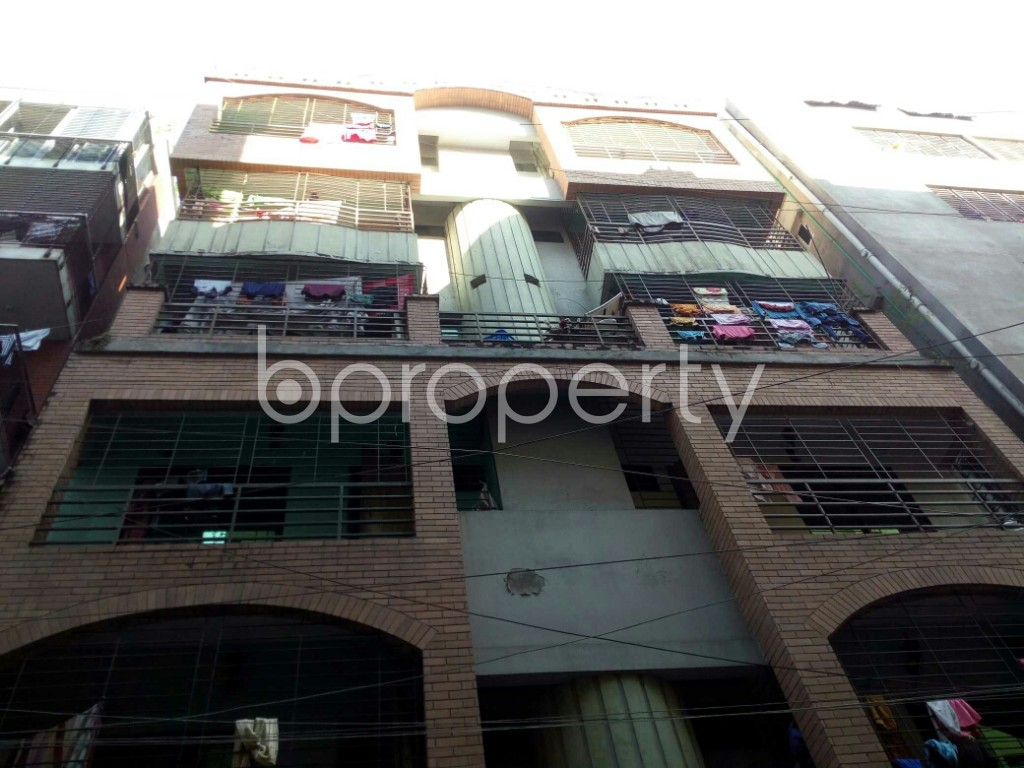 Outside view - 2 Bed Apartment to Rent in Badda, Dhaka - 1958472