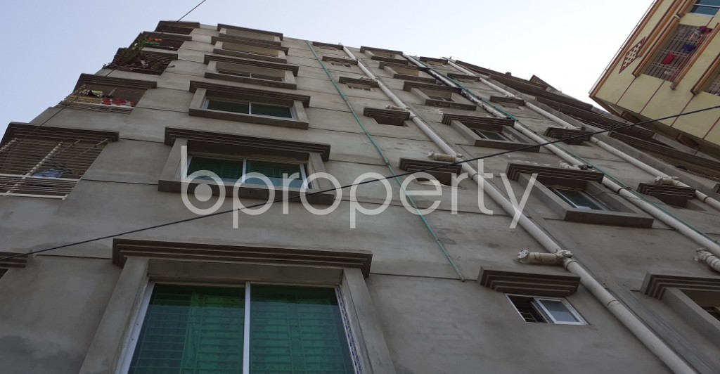 Front view - 3 Bed Apartment for Sale in Maniknagar, Dhaka - 1958473