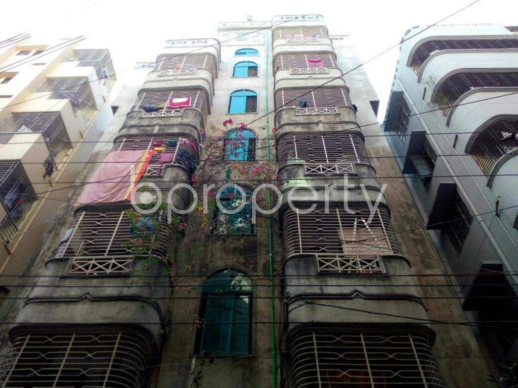 Front view - 1 Bed Apartment to Rent in Badda, Dhaka - 1958476