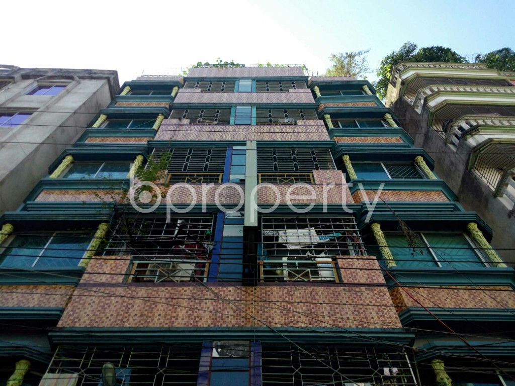 Front view - 1 Bed Apartment to Rent in Badda, Dhaka - 1958482