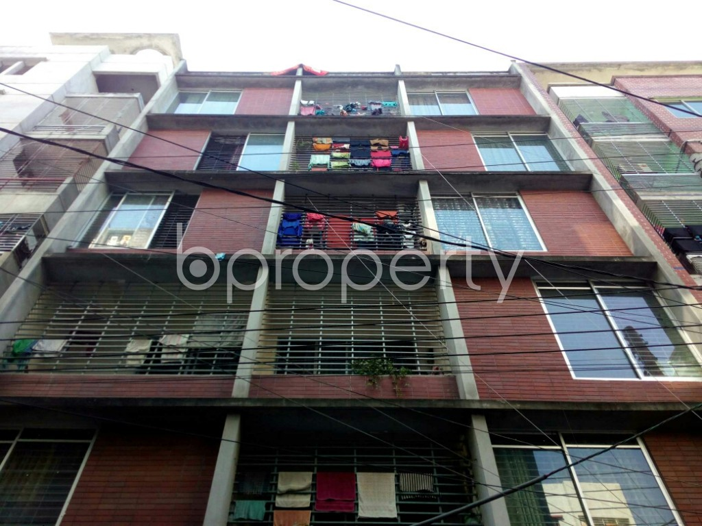 Front view - 2 Bed Apartment to Rent in Badda, Dhaka - 1958487