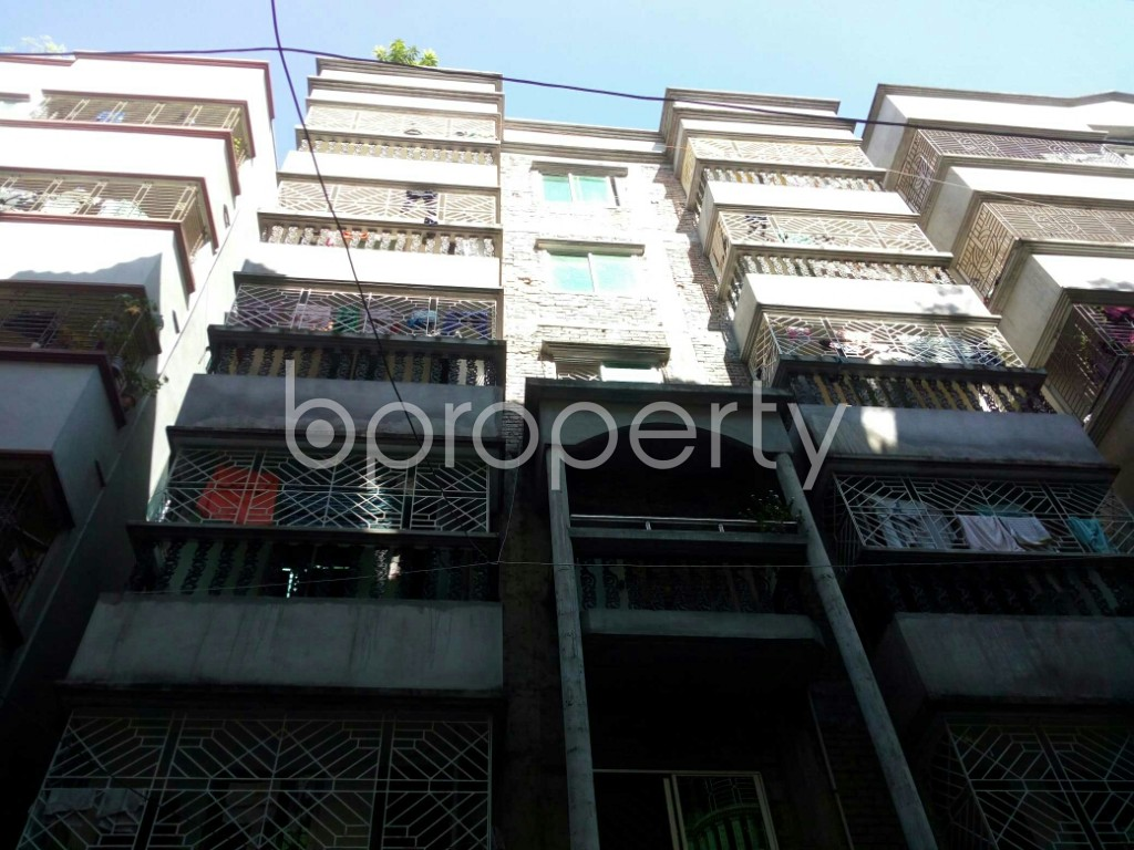 Front view - 1 Bed Apartment to Rent in Badda, Dhaka - 1958511