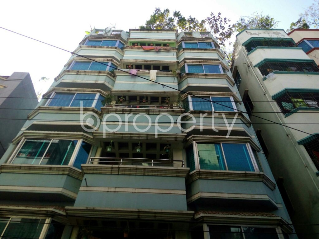 Front view - 2 Bed Apartment to Rent in Badda, Dhaka - 1958530