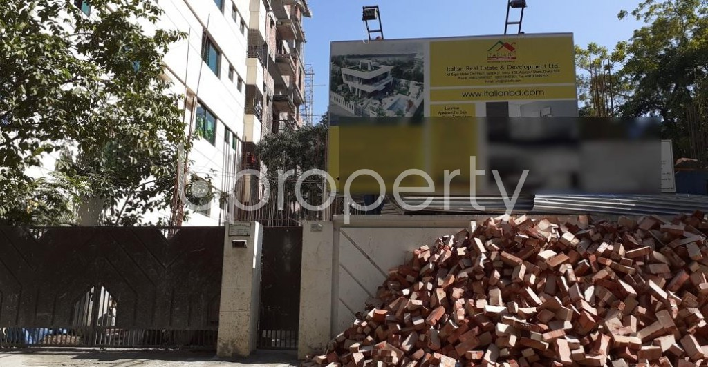 Front view - 4 Bed Apartment for Sale in Uttara, Dhaka - 1958533
