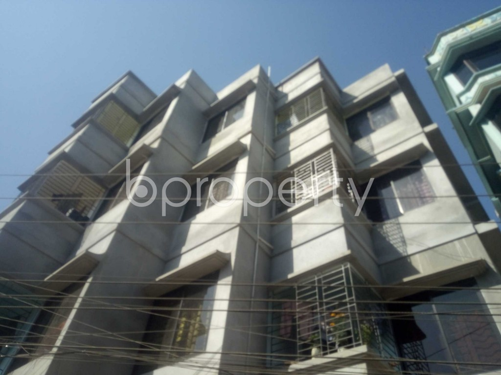 Outside view - 2 Bed Apartment to Rent in Badda, Dhaka - 1958541