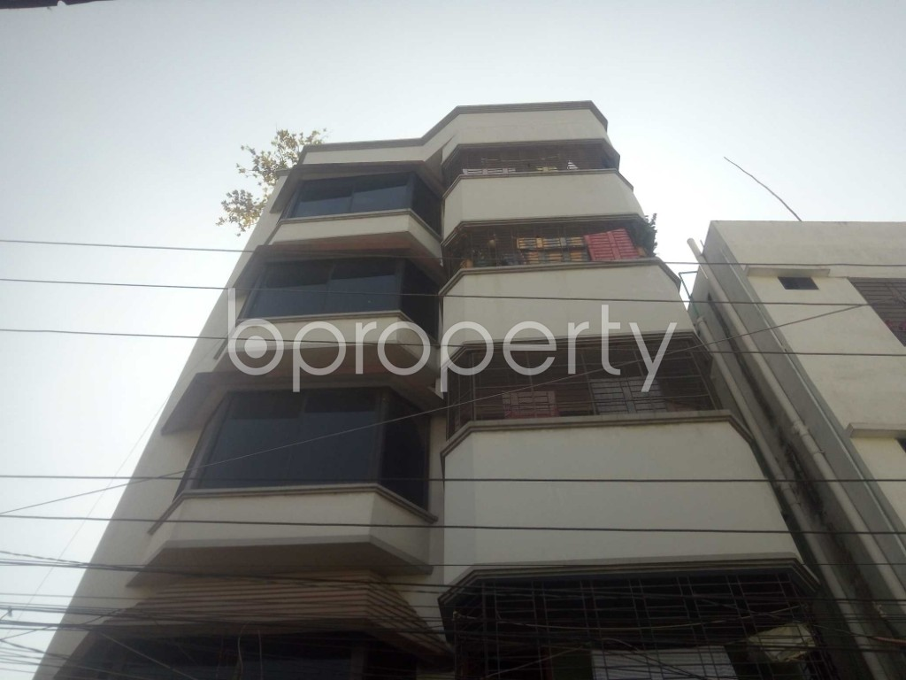 Outside view - 2 Bed Apartment to Rent in Badda, Dhaka - 1958542