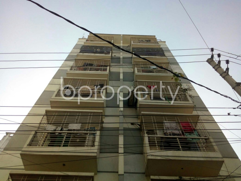 Front view - 2 Bed Apartment to Rent in Badda, Dhaka - 1958553